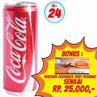 Coca Cola Slim - 250ml 1 Karton (Isi 24 x 250ml)
