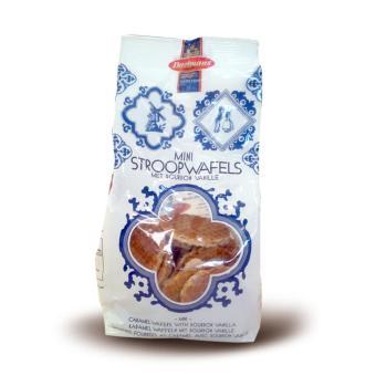 Daelmans Bisc-Mini Caramel Wafer Bites in Bag 160 Gr
