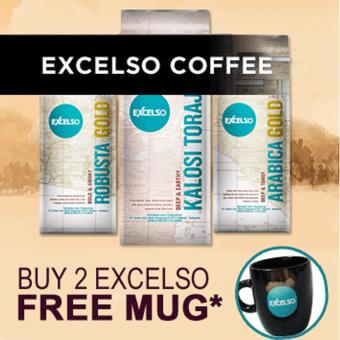 Excelso House Blend Coffee 200 gram - Ground / Bubuk - 2
