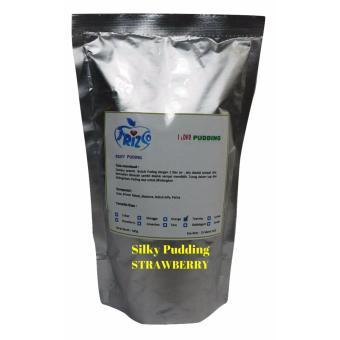 FRIZCO Strawberry Premix Silky Pudding, bahan bubuk podeng sutra445gr