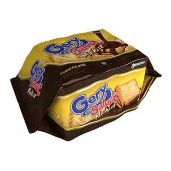 GarudaFood Gery Saluut Malkist Coklat Family Pack -110 gr 1 dus isi20 pack