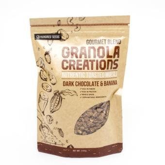 Granola Creations Dark Chocolate & Banana Isi 240gr