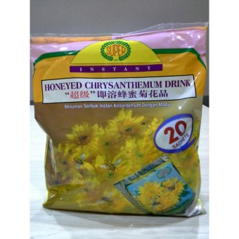 Harga SUPER HONEY CHRYSANTHEMUM TEA 20'S 360 Gr