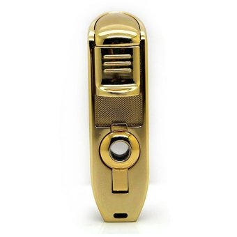 Harga Universal Cohiba Torch Lighter Triple Jet Flame with Cigar Punch - Golden