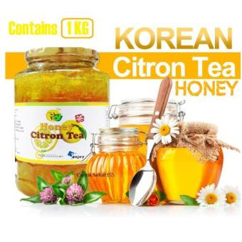 Harga Let's Enjoy Yuja Honey Citron Tea Madu Jeruk Korea 1kg (Kemasan Baru)
