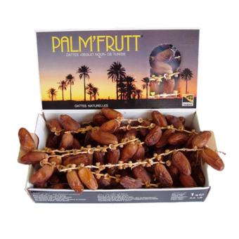 Harga Palm'Fruit Kurma Fresh Deglet Nour Dates From Tunisia - 1000g Murah