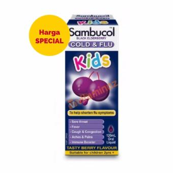 Harga Sambucol Kids Cold & Flu Liquid 120 ml