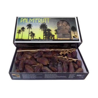 Harga Palm'Fruit Kurma Fresh Deglet Nour Dates From Tunisia - 500g Murah