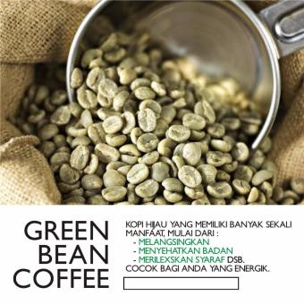Harga GREEN BEAN COFFEE - JAVA ROBUSTA (ORIGINAL)