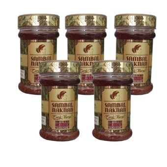 Sambal Naknan Level 5 - 140gr - 5 pcs - Super Pedas Hot