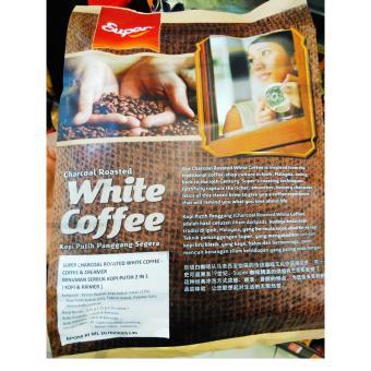 Super White 2in1 Coffee & Creamer 375g(25gx15s) Terbaru