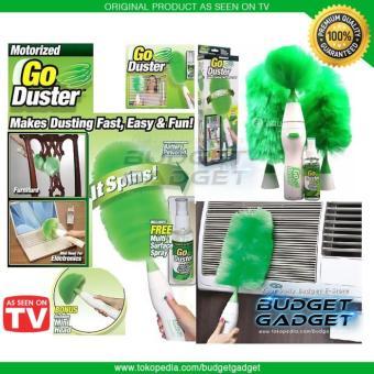 Kemoceng Elektrik Godust Home Duster Battery AAA