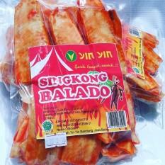 Keripik Singkong Balado Yin Yin 1Kg. (5pack)