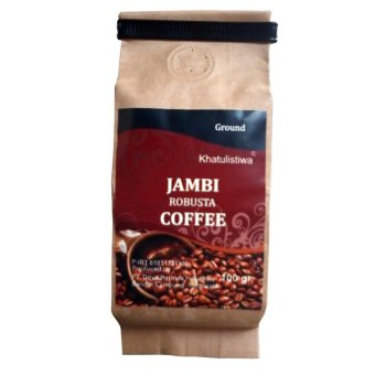 Khatulistiwa Coffee Robusta Jambi Coffee Roasted 100 gr