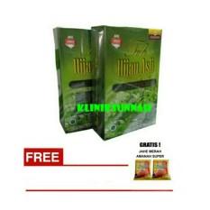 KLINIKSUNNAH 2 Bok Teh Hijau Asli (Obat Pelangsing, Slim, Kolesterol, Diet, Darah Tinggi)+ Jahe Merah