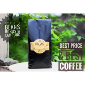 Kopi Robusta Lampung - Roasted Beans / Whole Beans Coffee 1KG