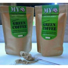 MY GREEN COFFEE POWDER/KOPI HIJAU BUBUK ORGANIK ALAMI 200GR