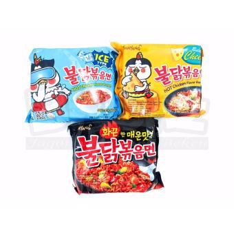 Paket Samyang 3 Rasa Cool Cheese Spicy Isi 3