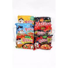 Paket Samyang 6 Rasa Stew Cool Cheese Curry Spicy Nuclear Isi 6