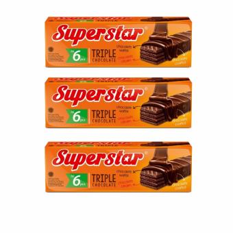 murah roma superstar triple chocolate box 18gr 6pcs bundle 3 harga diskon rp 25.250 beli sekarang