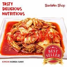 Samwon - Kimchi Sawi Fresh - 1 KG - Makanan Korea