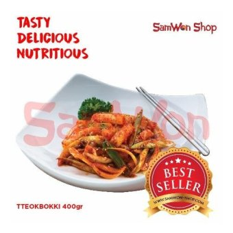 Samwon Tteokbokki / Tokpoki 400 Gr Fresh - Samwon Makanan Korea Enak Lezat Bergizi (Kue