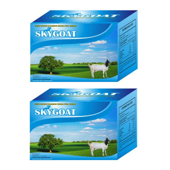 SKYGOAT Susu Bubuk Kambing Etawa Bubuk Full Cream - 2 BOX