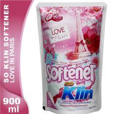 So Klin Softener Love In Paris Pink Pouch 900 mL