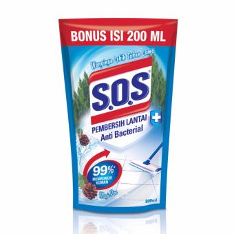SOS Pembersih Lantai Extra Refill - Magic Pine Refill [800 + 200 mL]