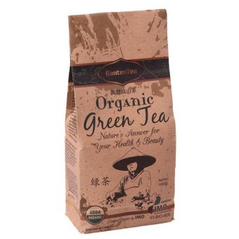 Tea Collection Daun Teh Banten Certified Organic Green Tea leaf100g