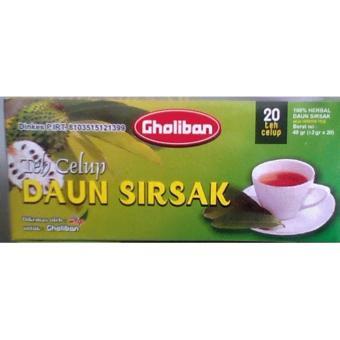 Teh Celup Herbal Daun Sirsak Gholiban .