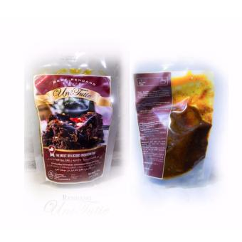 Gambar Produk Rinci UniTutie Rendang Daging Sapi Asli - 250 Gram Terkini