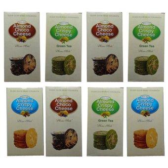 Wisata Rasa Almond Crispy Cheese Paket Campur 3 Rasa isi 8 pcs