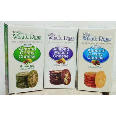 Wisata Rasa Almond Crispy Cheese - Paket Mix 3 Box