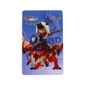 0 shipping fee One Eyed Liolaeus & Boy Rider Amiibo NFC MonsterHunter Stories Wii U Free Card - intl