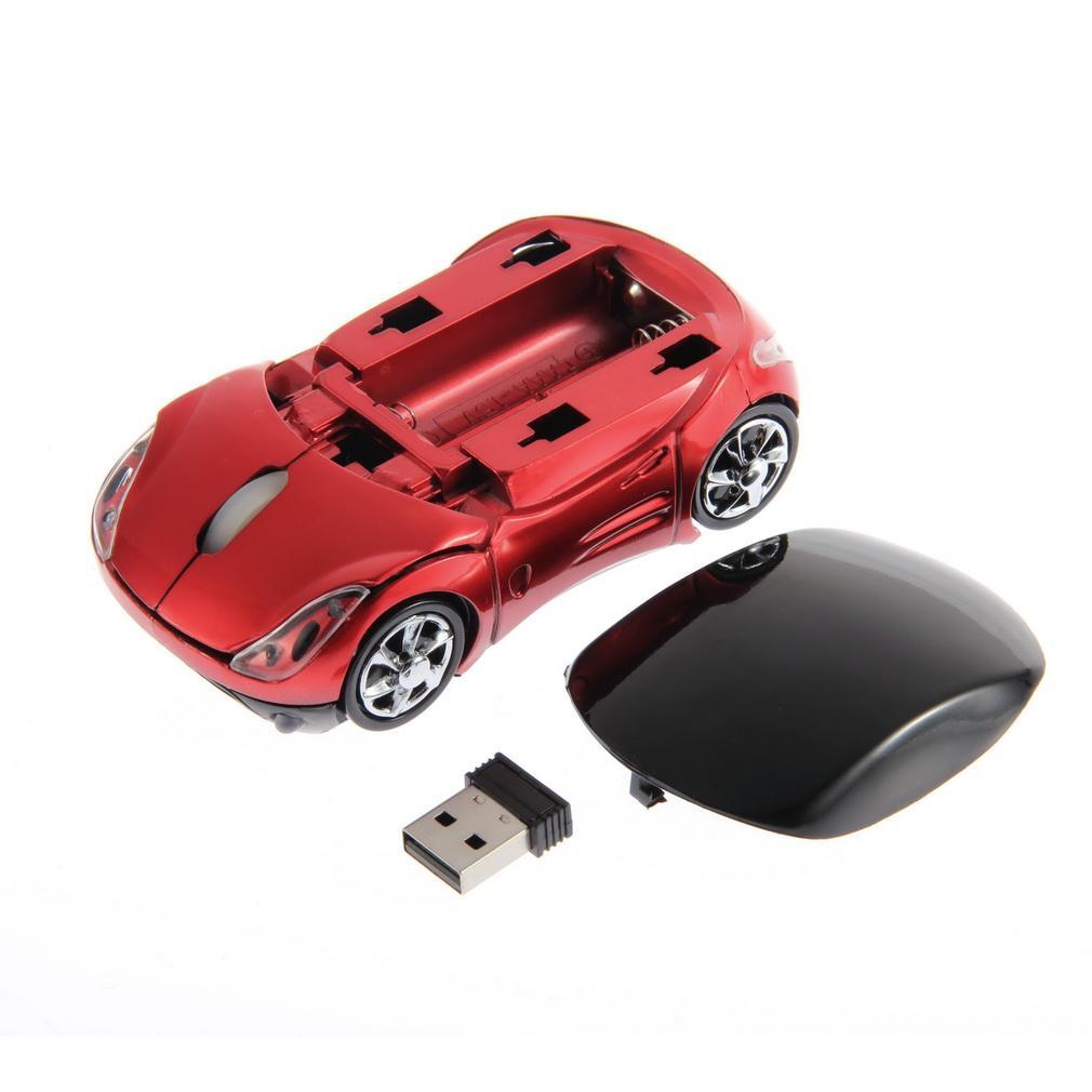 ... 1000DPI Wireless Mobil Mouse Optik USB receiver untuk laptop dan komputer ...