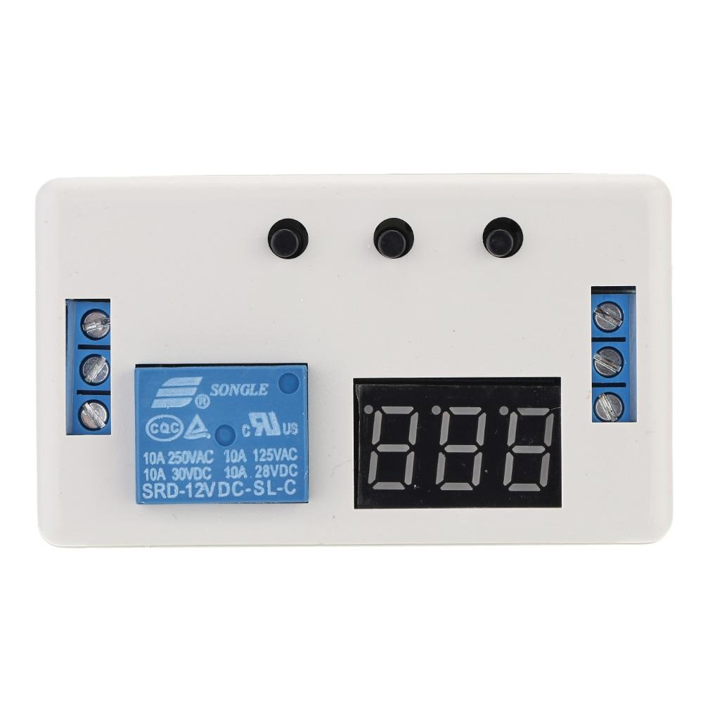 Kelebihan 220vac Adjustable Timer Delay Turn Off Time Relay Modul 12 Volt V Led Automation Control Switch With Case Intl