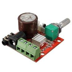 12 V Mini Hi-Fi PAM8610 2 x 10 Watt D Kelas Audio Stereo Papan