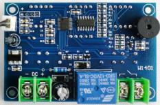 12 V Tampilan Pengendali Suhu Thermostat Digital Memimpin Dengan NTC Sensor (Abu-Abu)