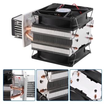 12V Semiconductor Refrigeration Thermoelectric Peltier Air CoolingDehumidification System - intl - 3 .