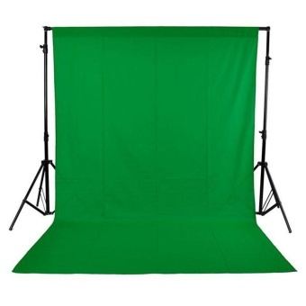 1.6 x 3M / 5 x 10FT Photography Studio Non-woven Backdrop Background Screen Green Outdoorfree - intl
