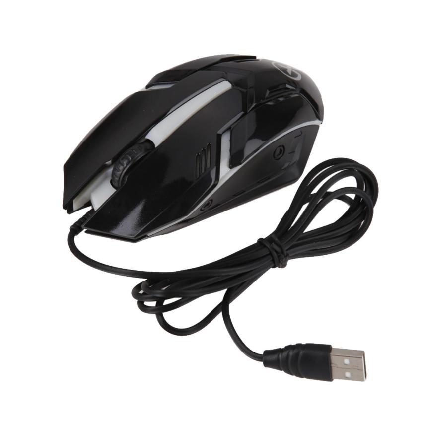 USB LED warna-warni kabel optik 3D Gaming Mouse (hitam). Source ... Kabel Optik Motif 3d Laptop Pc Komter Source · Mouse With 4 Source .