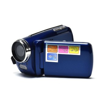 1.8 Inci TFT 4 x Perkecil Tampilan Kamera Video Digital Mini (Biru)