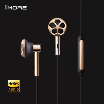 1MORE E1008 Dual Driver In-Ear Earphone Earpiece Earbuds Headset for Phone Hi-Res Audio certification for iOS and Android Xiaomi