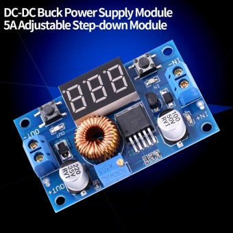 1pc DC-DC Buck Converter Voltage Regulator Step Down Module 5A4.0V~38V to 1.25V~36V Adjustable - intl - 4