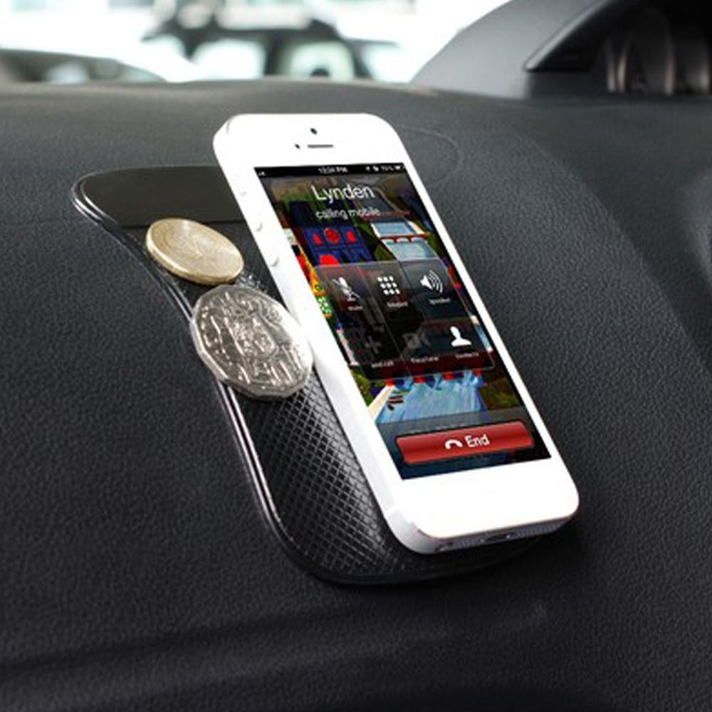 1Pcs Premium Car Fixate Sticky GPS Cell Mobile Phone Smartphone Anti-Slip Pad Mat for Tile Surface Dashboard Magic Powerful Non-Slip Adhesive Sticker Car Accessories - intl