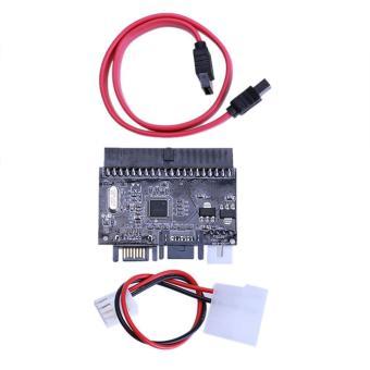 2-in-1 IDE untuk SATA Adaptor/SATA untuk IDE adaptor konverter