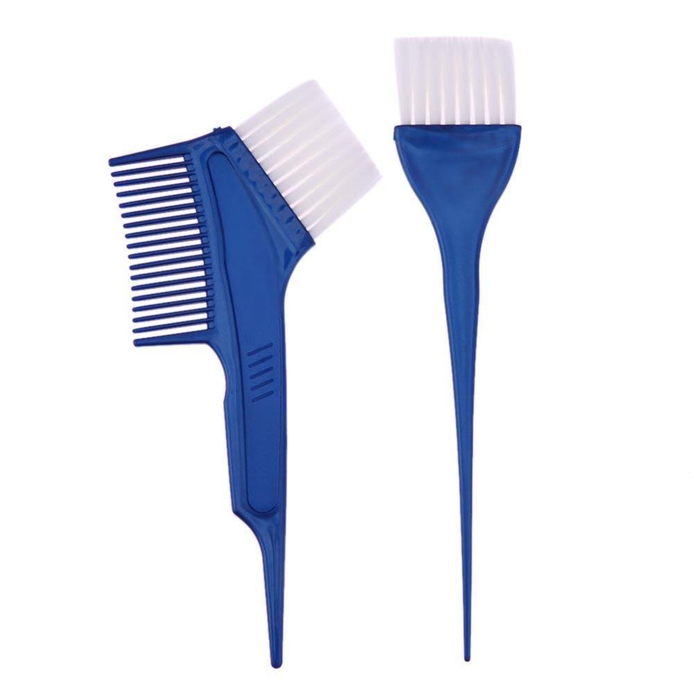 Cek Harga Baru P26 Profesional Dapat Digunakan Kembali Mewarnai Topi Highlight Plastik 2 Pcs Rambut Pencelupan Sikat Set Salon Pewarna Sisir Biru Intl
