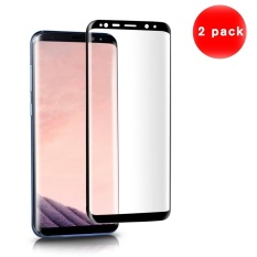 2 PCS Screen Protector Curved Tempered Glass Full Coverage Anti-scratch Screen Protector for Samsung