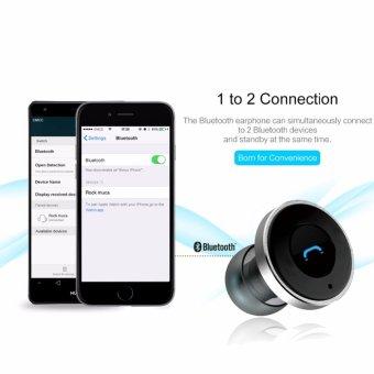 ... 2016 2in1 Mini Bluetooth Headphones USB Car Charger Dock WirelessCar Headset Bluetooth Earphone